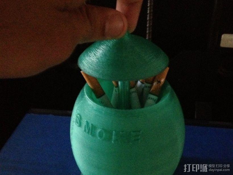 迷你香烟盒 3D打印模型渲染图