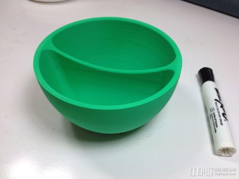 迷你燕麦碗 3D打印模型渲染图