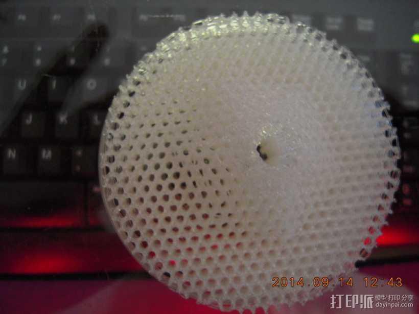 厨房水槽过滤器 3D打印模型渲染图