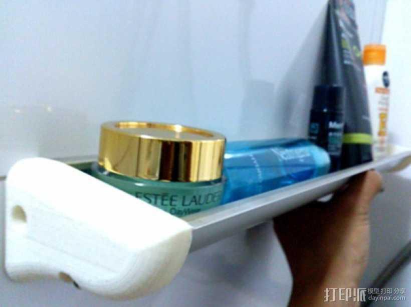 浴室置物架 3D打印模型渲染图