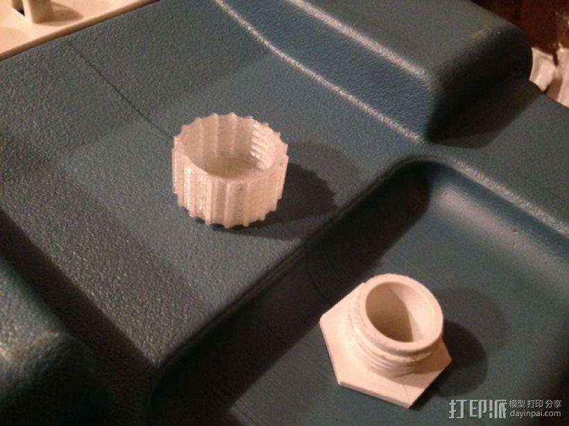 冷却器排水阀塞子 3D打印模型渲染图