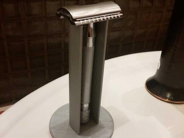 剃须刀站架 3D打印模型渲染图