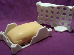 蜂巢形肥皂盒