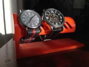 桌面式手表架