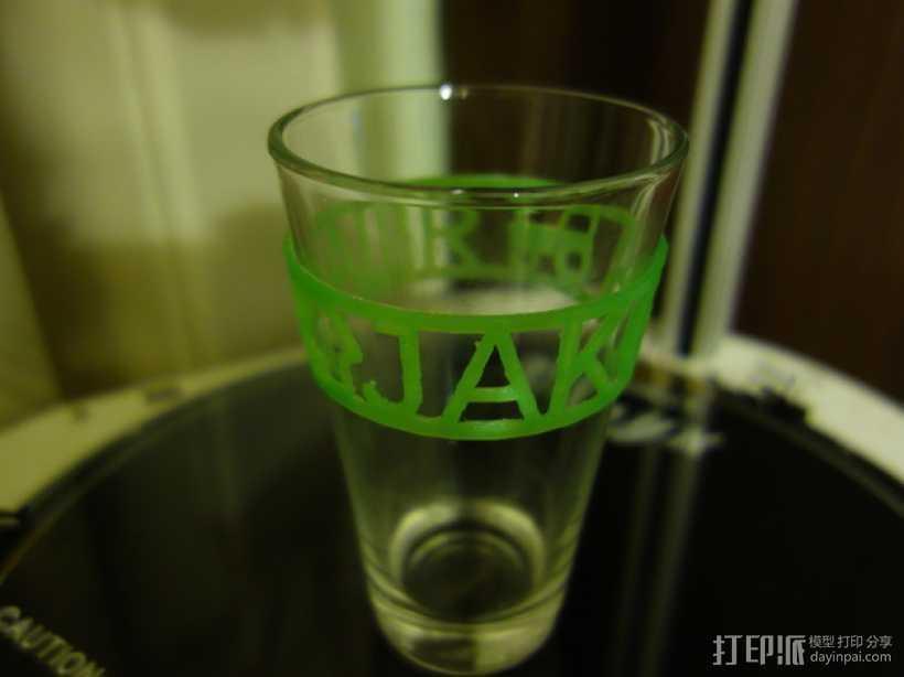 定制化杯套 3D打印模型渲染图