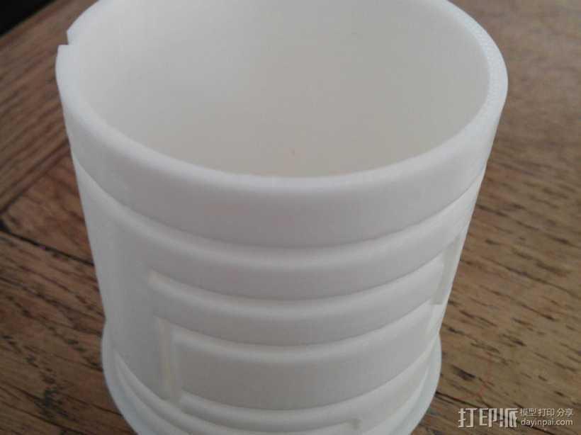 简易迷宫形小盒 3D打印模型渲染图