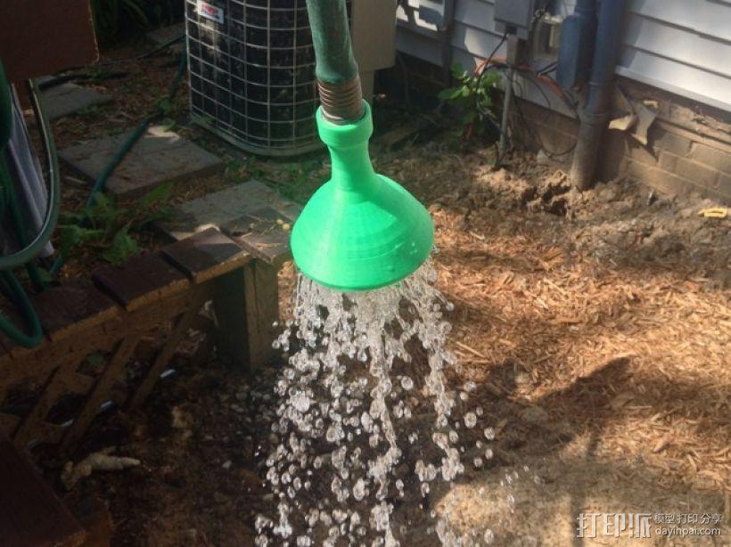 低压花园软管喷嘴 3D打印模型渲染图