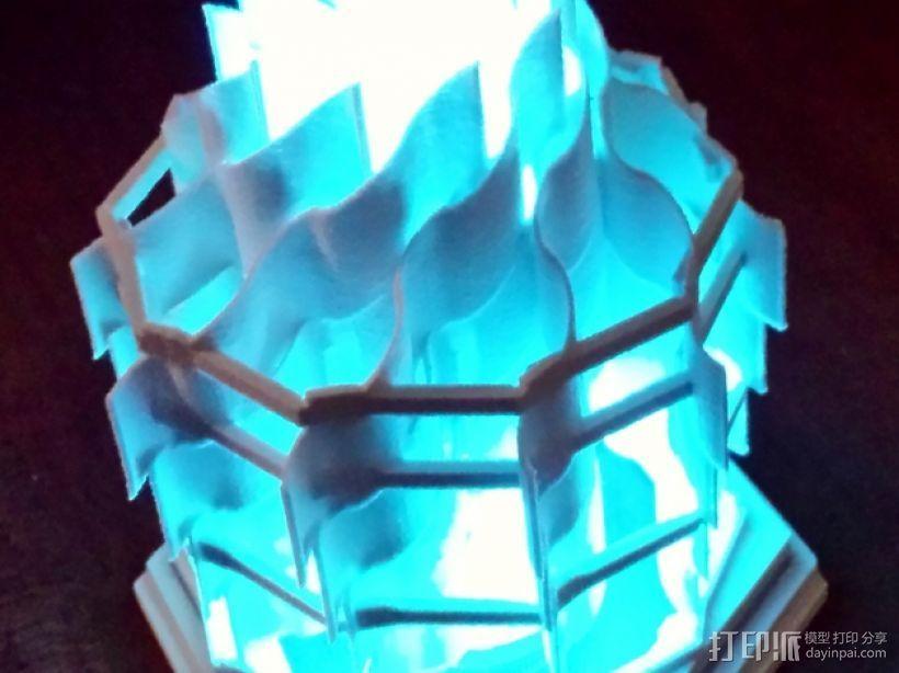 灯塔系列之光笼2 3D打印模型渲染图