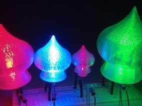 圣巴西尔大教堂穹顶形LED灯灯罩