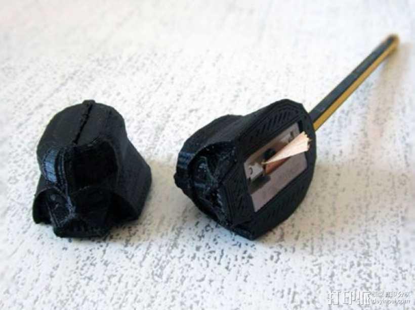黑武士卷笔刀 3D打印模型渲染图