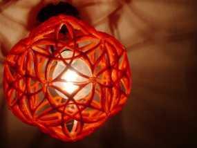 十二面体镂空灯罩