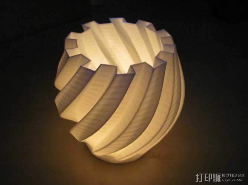 茶灯烛台套装 3D打印模型渲染图