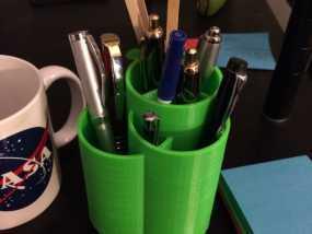 个性化笔筒
