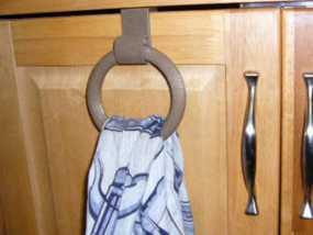 平板门毛巾架