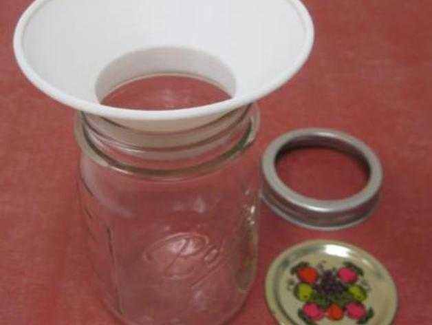 罐头瓶漏斗 3D打印模型渲染图