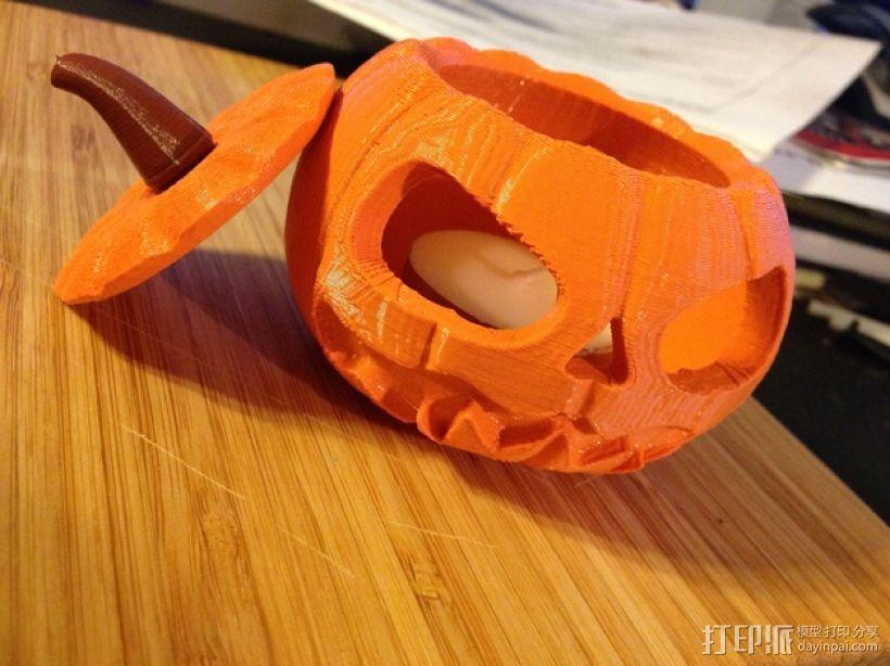 迷你南瓜灯 3D打印模型渲染图
