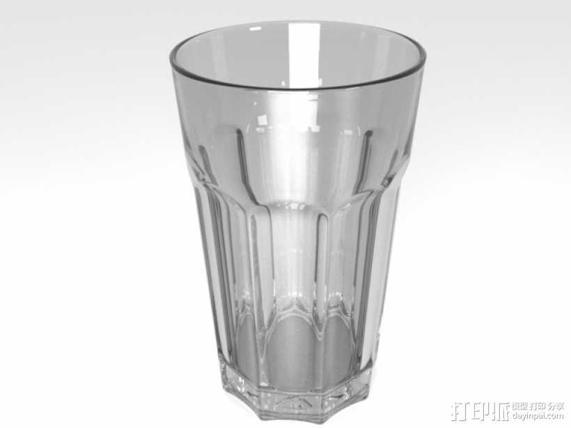 玻璃杯 3D打印模型渲染图