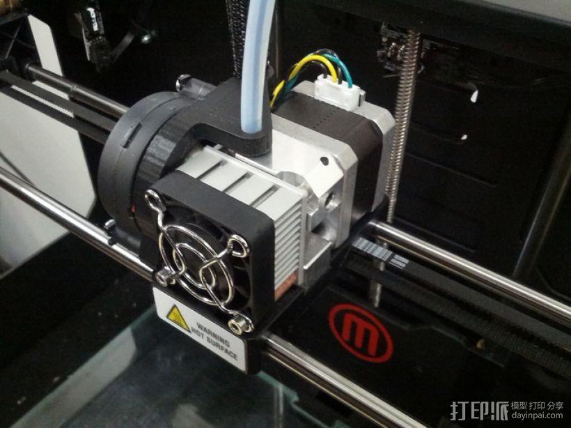 管道风机接头 3D打印模型渲染图