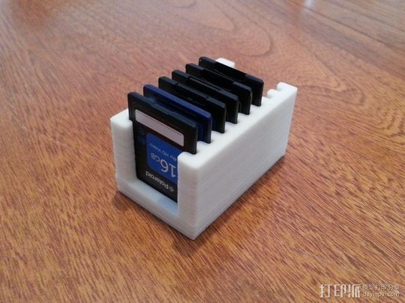 SD卡架 3D打印模型渲染图
