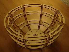 激光切割小碗
