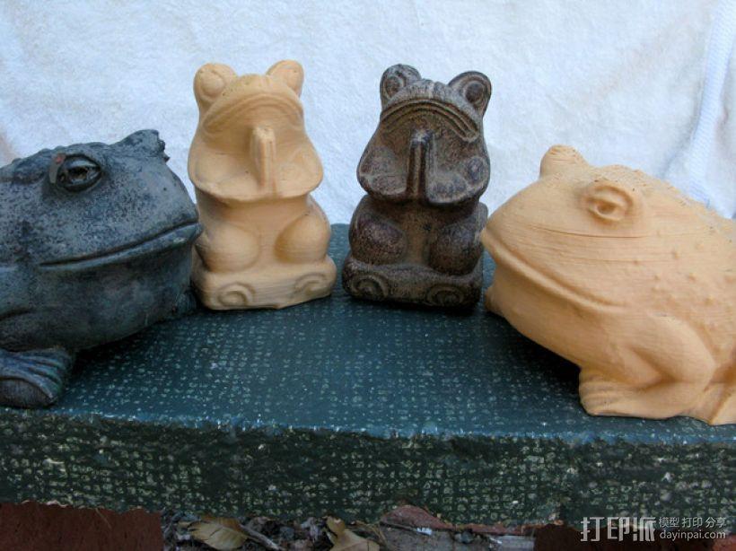 青蛙/蟾蜍 3D打印模型渲染图