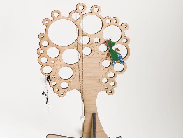 珠宝首饰树 3D打印模型渲染图