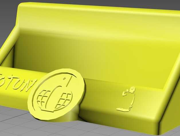 Jotun名片夹 3D打印模型渲染图