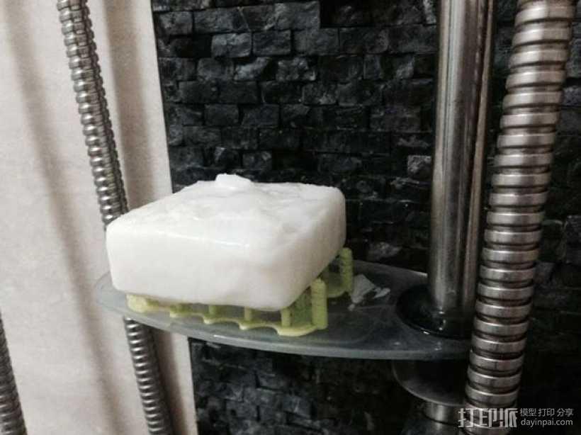 镂空肥皂架 3D打印模型渲染图