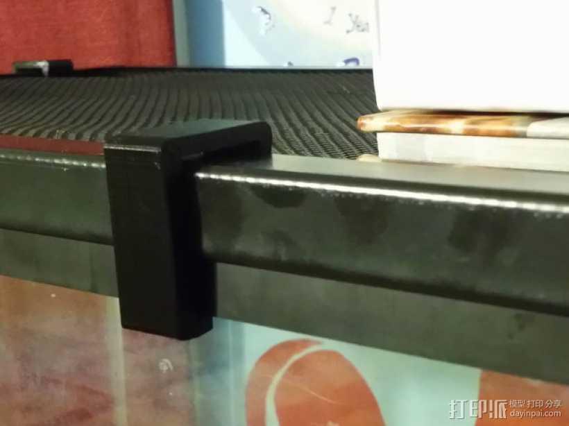 盒子固定夹 3D打印模型渲染图