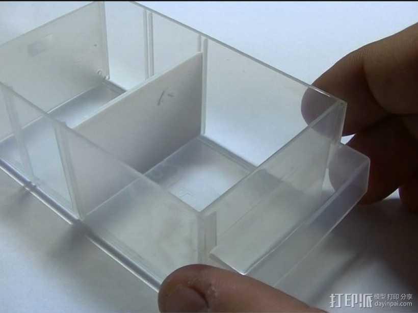 储物箱分隔板 3D打印模型渲染图