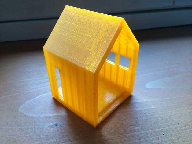 迷你小屋 3D打印模型渲染图