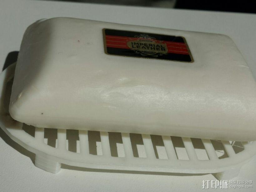 定制化肥皂架 3D打印模型渲染图