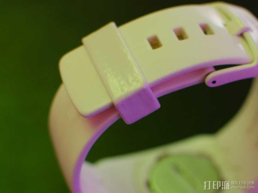 斯沃琪手表表带零部件 3D打印模型渲染图
