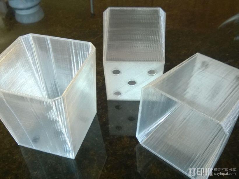 厨房花盆内衬 3D打印模型渲染图