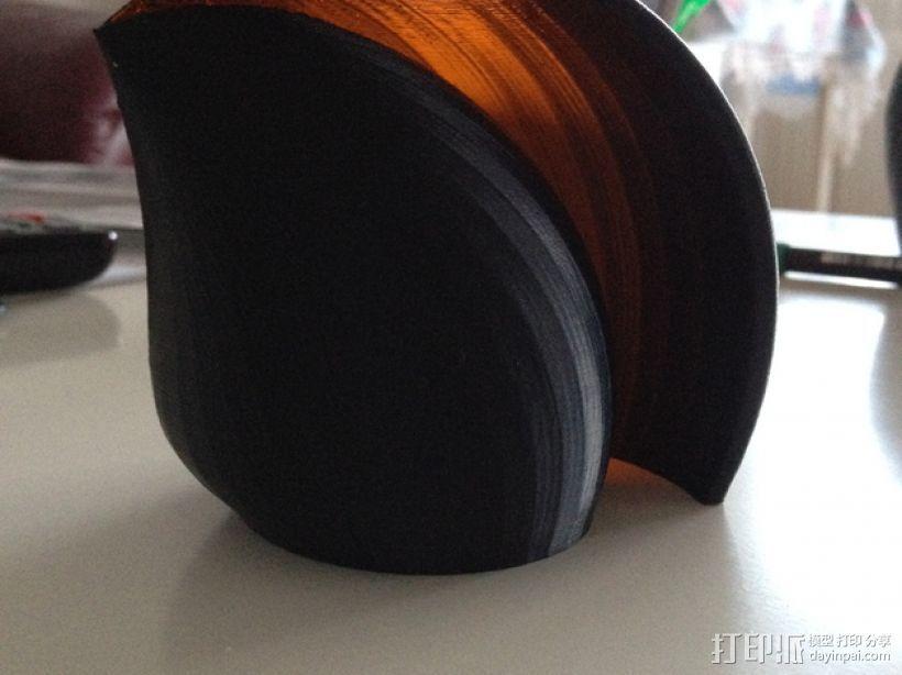 海贝形灯罩 3D打印模型渲染图