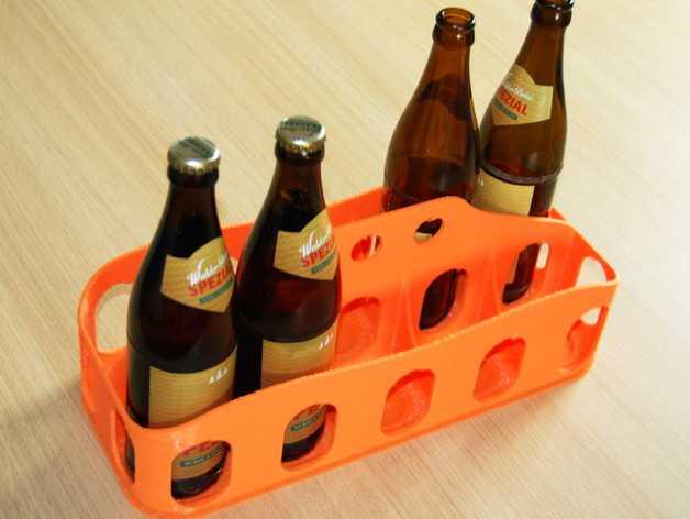 啤酒/汽水饮料架 3D打印模型渲染图