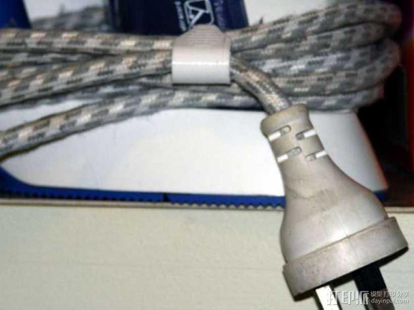 绕线夹/绕线器 3D打印模型渲染图