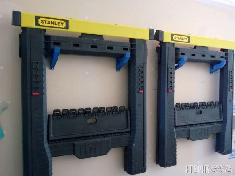 锯木架挂钩 3D打印模型渲染图