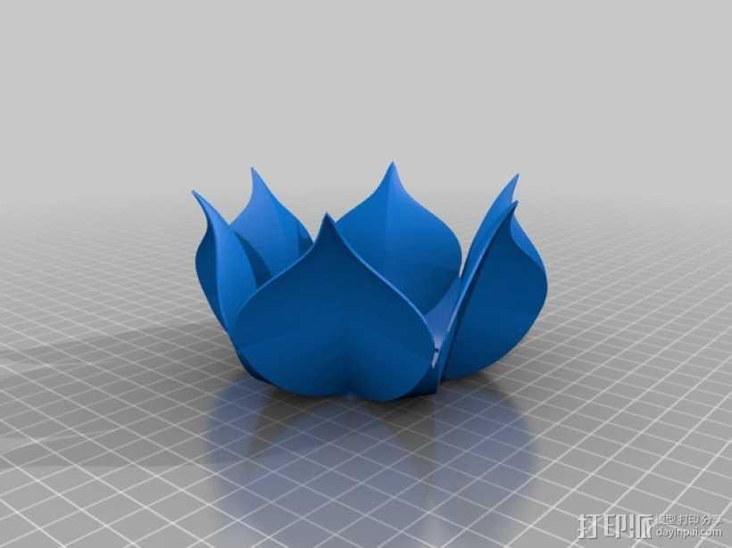 莲花碗 3D打印模型渲染图