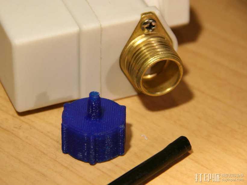 点滴器配适器/连接器 3D打印模型渲染图