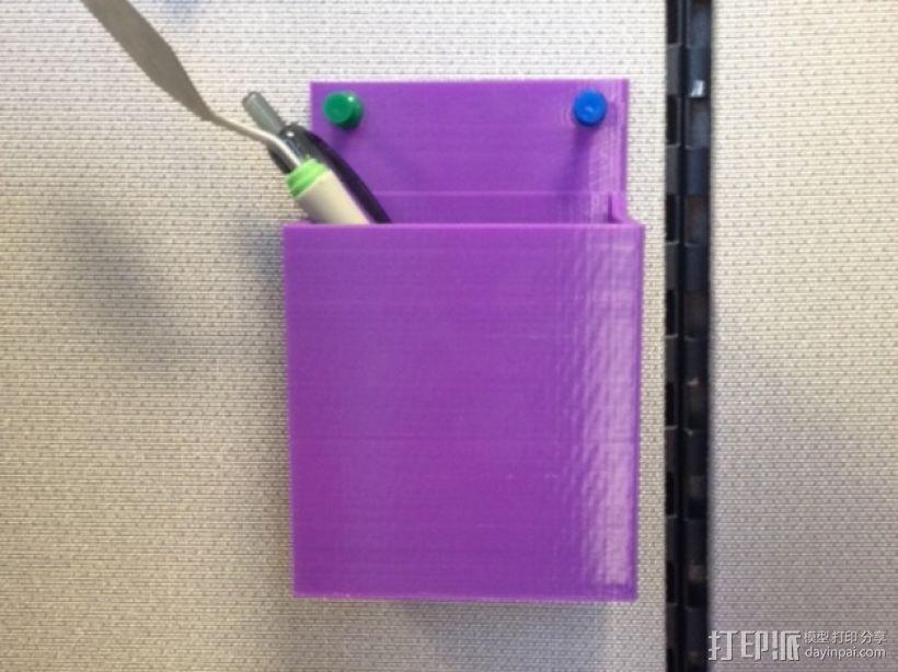 迷你储物盒 3D打印模型渲染图