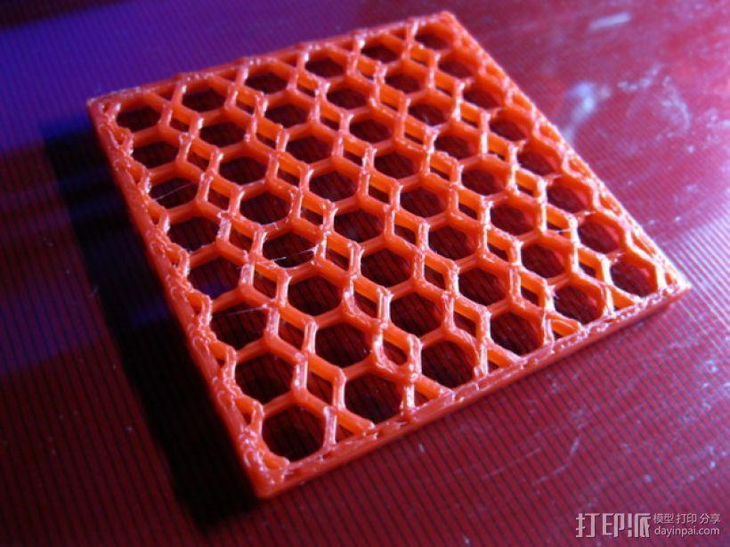 洗碗机银制餐具过滤器 3D打印模型渲染图