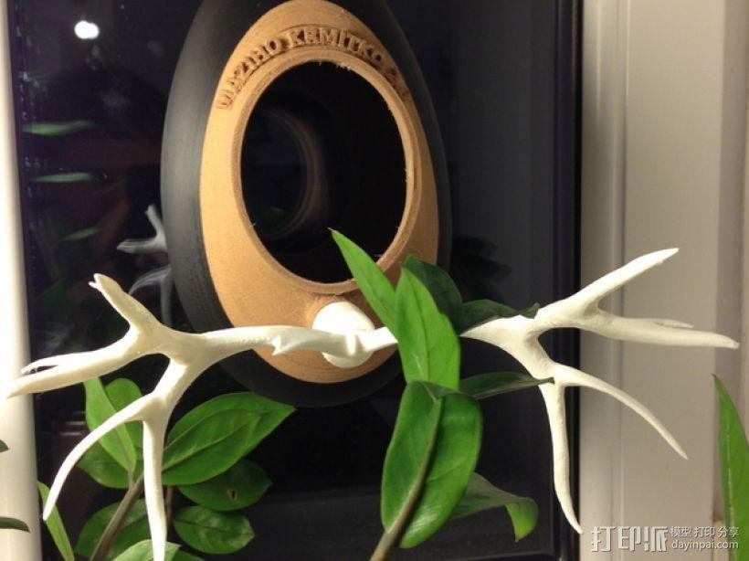 喂鸟器2.0 3D打印模型渲染图