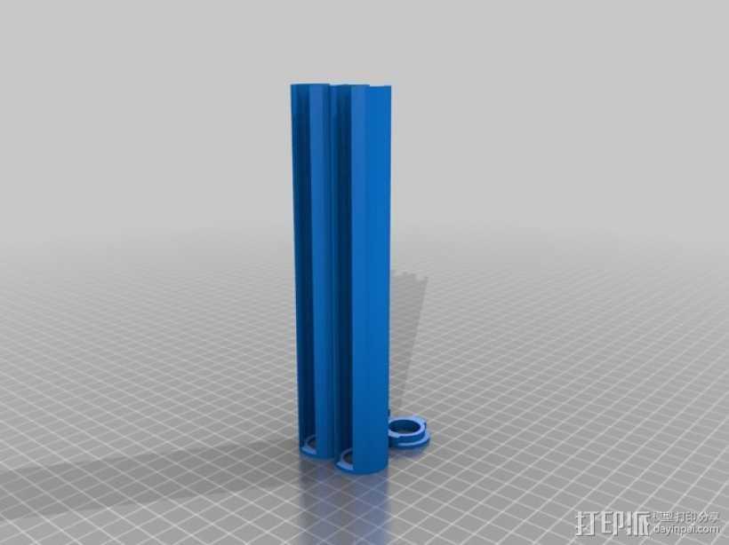 200便士 3D打印模型渲染图