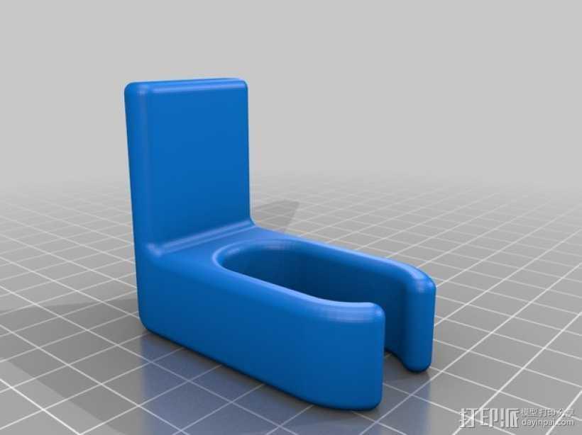 婴儿车包袋夹 3D打印模型渲染图