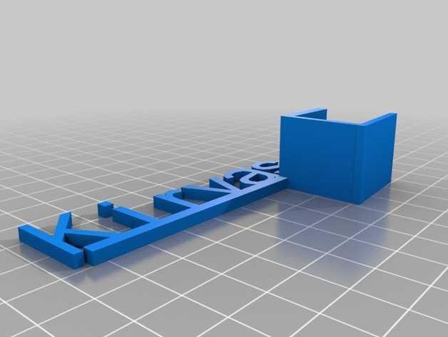 商品促销架 3D打印模型渲染图