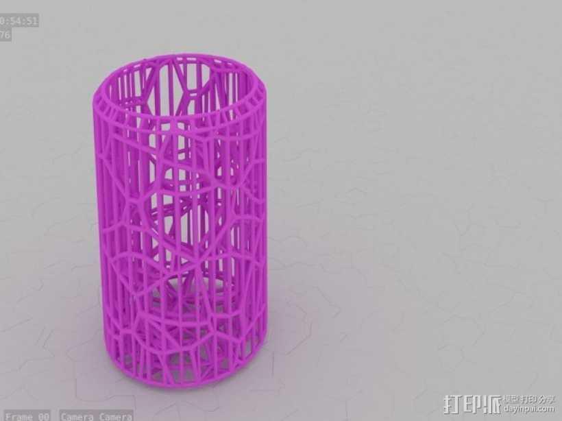 搅拌器细胞断裂试验 3D打印模型渲染图
