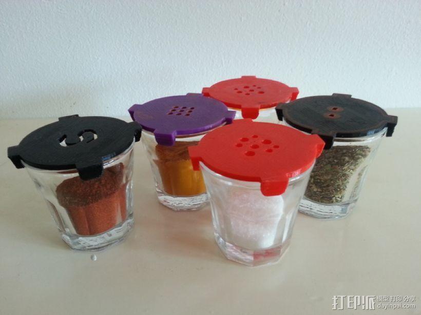 宜家小酒杯-调料瓶 3D打印模型渲染图