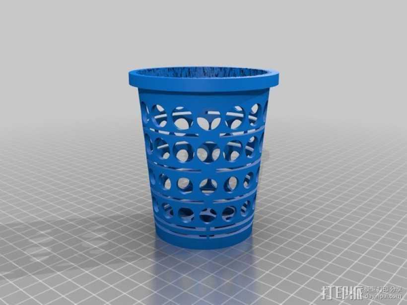 水培植物容器 3D打印模型渲染图