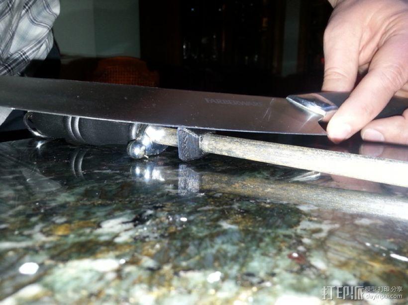 磨刀装置固定夹 3D打印模型渲染图